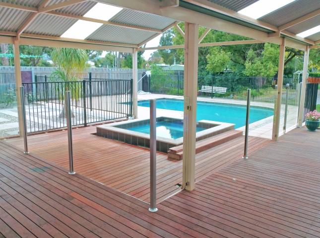 Semi Frameless Glass Pool Fence Gallery Fence Spot