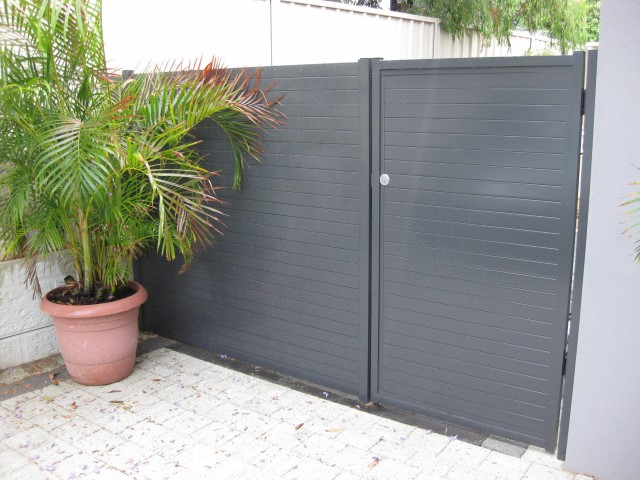 Pedestrian Gate Gallery Fence Spot Excellence In Fencing
