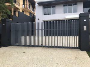 Sliding Entry Gate in Allara Blade