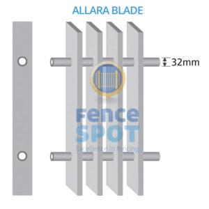 Blade Fencing Diagram