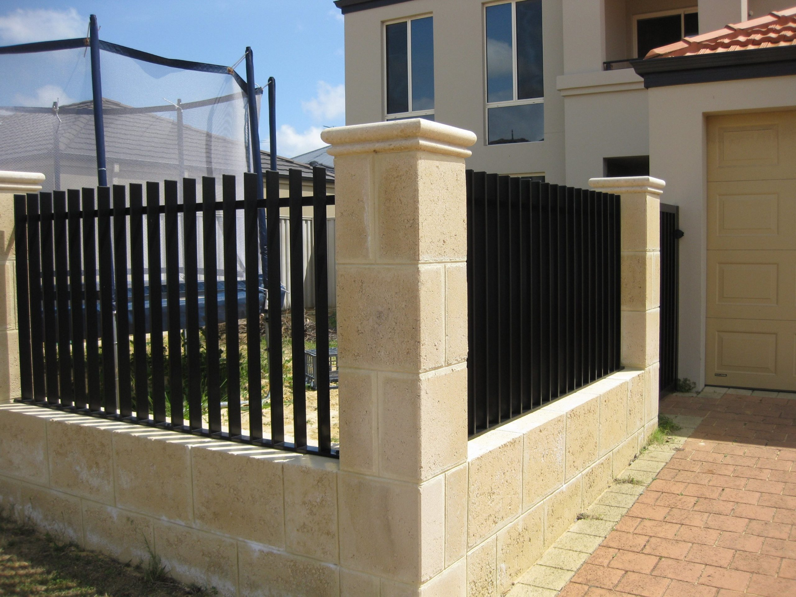 Slat Whitby Blade Infill Panels and Gate