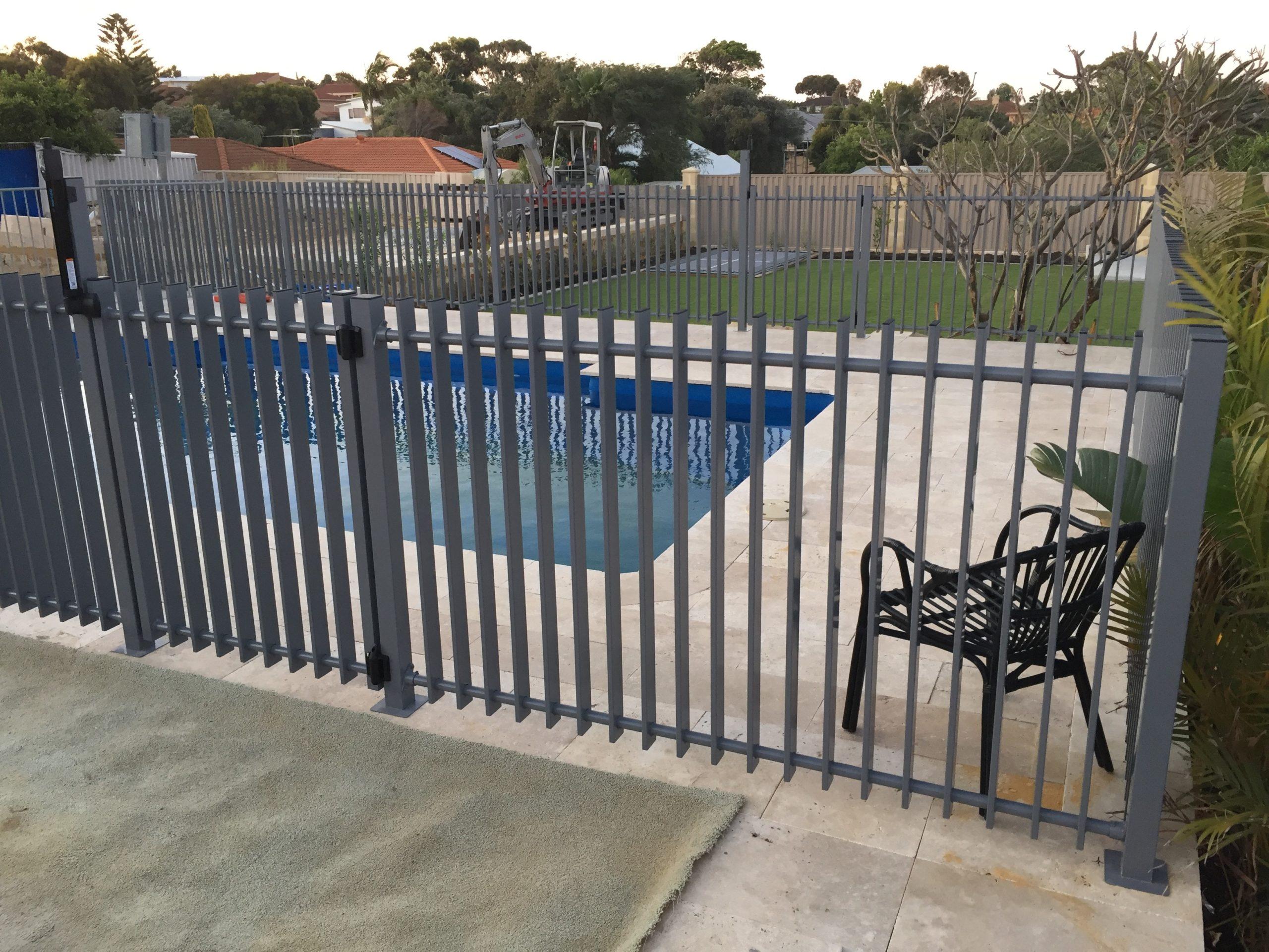 Allara Blade Pool Fence 1