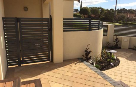 Slat Infill - Fencing and Gate