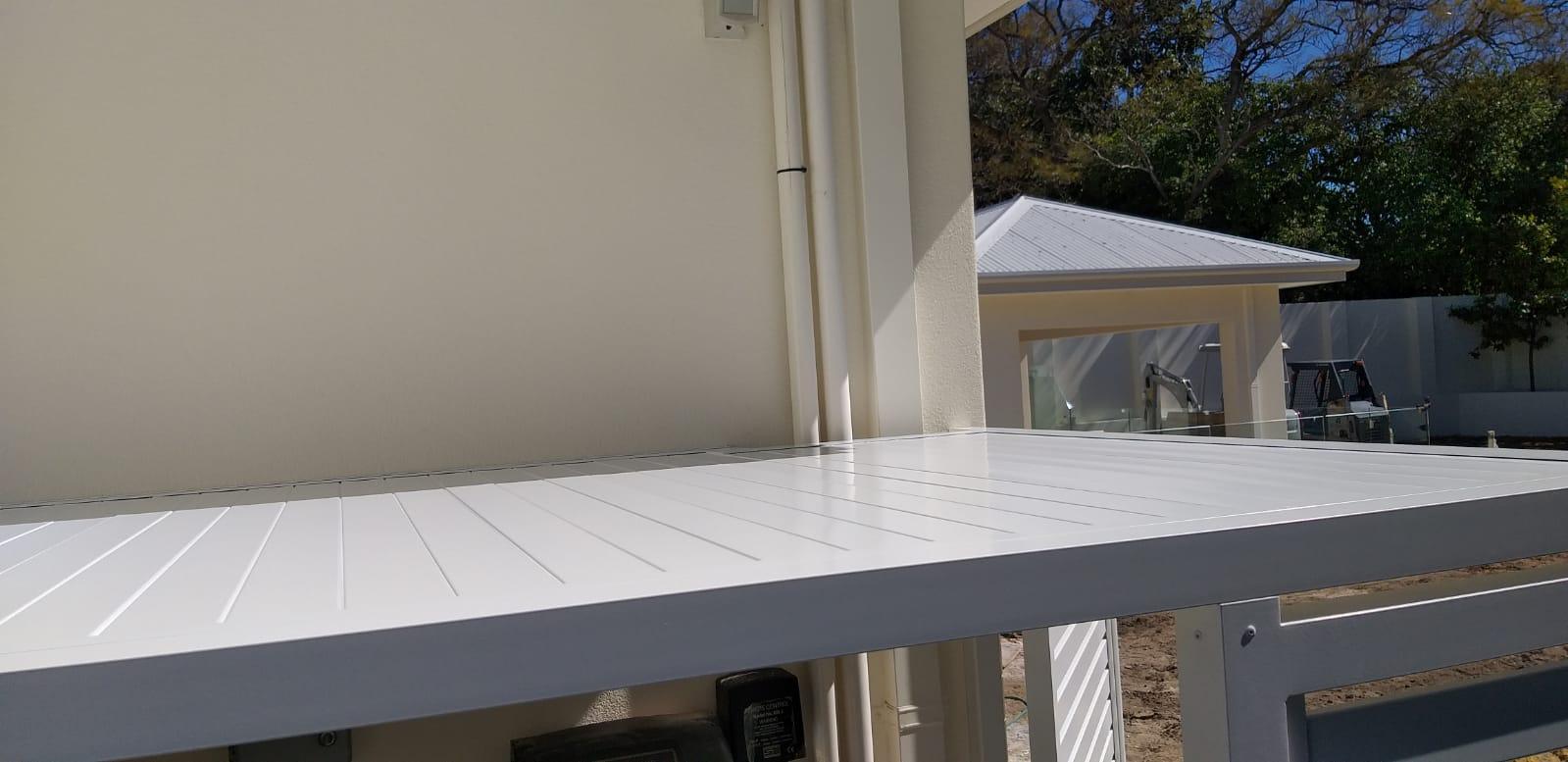 Pool pump and Aircon enclosure - roof 1