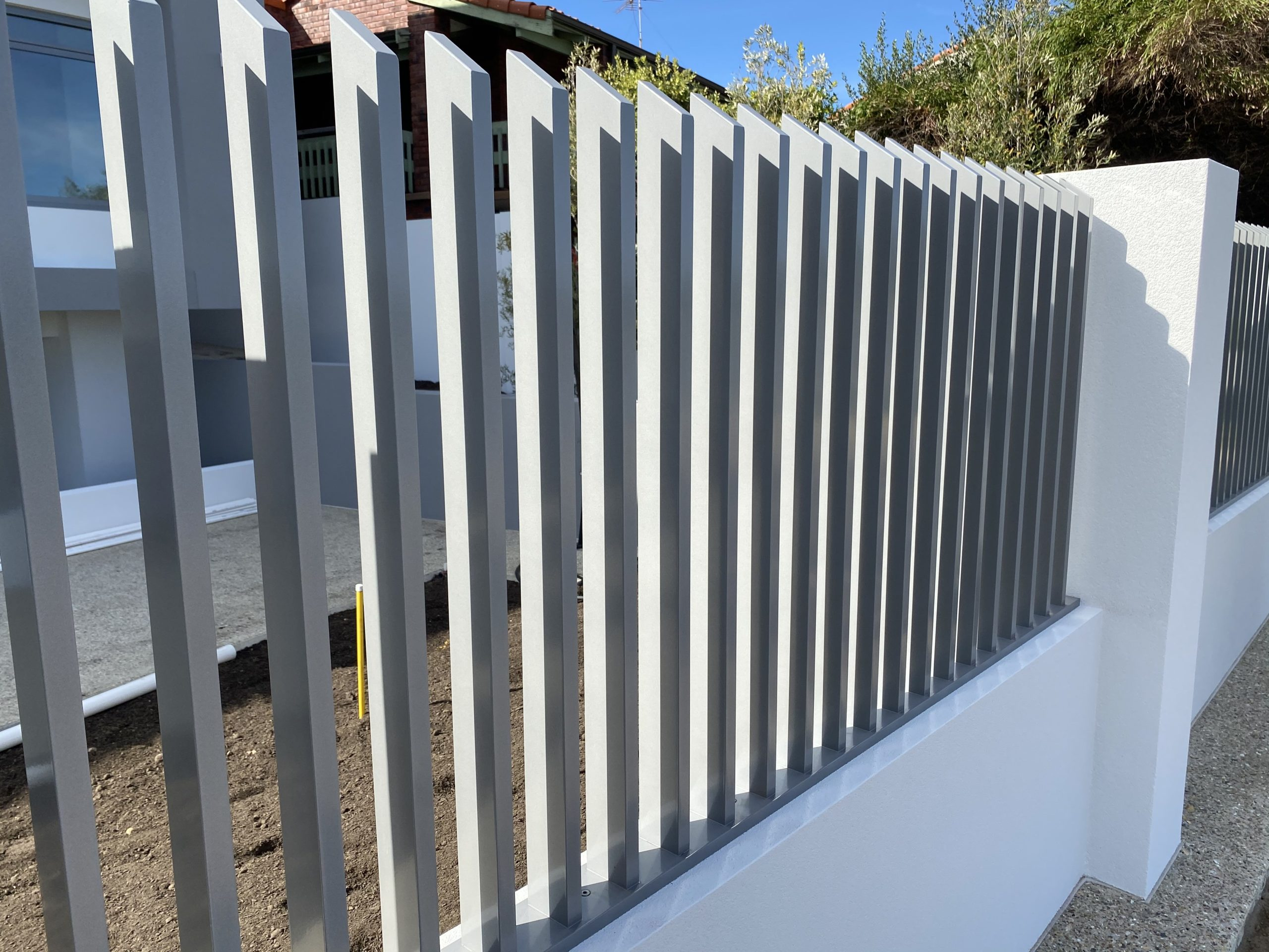 Allara Blade Fence - grey - side